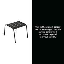 Monceau Low Table / Footrest - Liquorice
