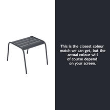 Monceau Low Table / Footrest - Anthracite