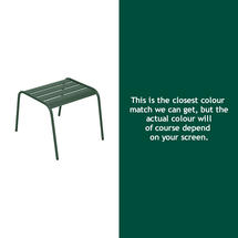 Monceau Low Table / Footrest - Cedar Green