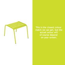 Monceau Low Table / Footrest - Verbena Green