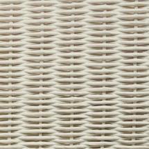 Gigi Lounge Chair Steel Frame - Broken White