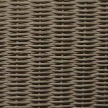 Gigi Lounge Chair Steel Frame - Taupe