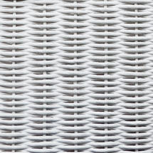 Gigi Lounge Chair Steel Frame - Pure White