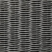 Gigi Lounge Chair Black Frame - Quartz Grey