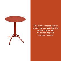 Ariane Round Table - 60cm - Paprika