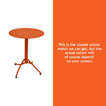Ariane Round Table - 60cm - Carrot