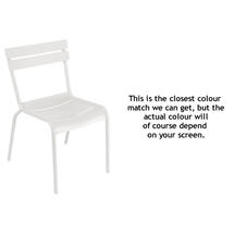 Steel Luxembourg Chair - Cotton White
