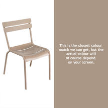 Steel Luxembourg Chair - Nutmeg