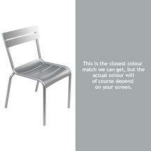 Steel Luxembourg Chair - Steel Grey