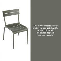 Steel Luxembourg Chair - Rosemary