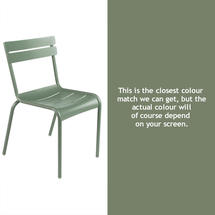 Steel Luxembourg Chair - Cactus