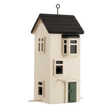 Townhouse Bird Feeder - Sand