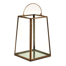 Copper Mirrored Lantern - Large