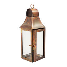 Mini Lantern- Burnished Copper