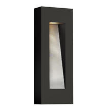 Luna LED Medium Wall Light Satin Black