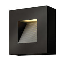 Luna LED Small Wall Light Satin Black