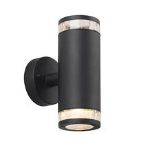 Birk Up/Down Wall Light - Black