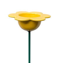 Petal Bird Feeder - Yellow