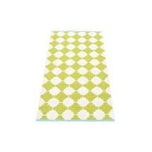 Marre 70 X 150cm Lime/Vanilla/Turquoise Edge