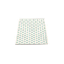 Noa 70 X 90cm Pale Turq/Vanilla/Grey Edge