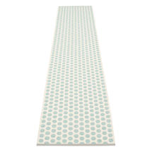 Noa 70 X 350cm Pale Turq/Vanilla/Grey Edge