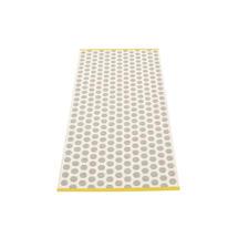 Noa 70 X 150cm Warm Grey/Vanilla/Mustard Edge