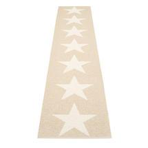 Viggo Star 70 X 350cm Beige Metallic/Vanilla