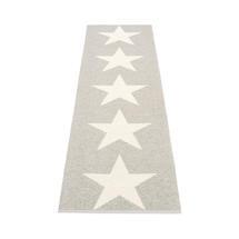 Viggo Star 70 X 250cm Stone Metallic/Vanilla