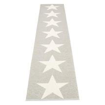 Viggo Star 70 X 350cm Stone Metallic/Vanilla