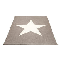Viggo Star 180 X 230cm Mud Metallic/Vanilla