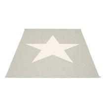 Viggo Star 180 X 230cm Stone Metallic/Vanilla