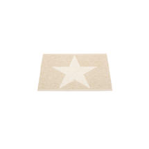 Viggo Star 70 X 50cm Beige Metallic/Vanilla