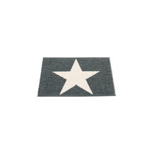 Viggo Star 70 X 50cm Black Metallic/Vanilla