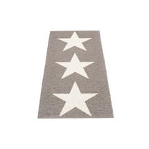 Viggo Star 70 X 150cm Mud Metallic/Vanilla