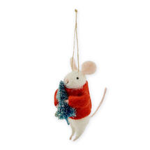 Mouse With Christmas Tree