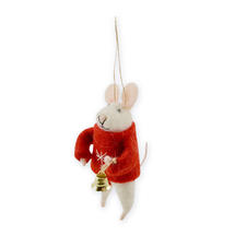 Mouse With Christmas Bell