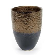 Petrol & Bronze Small Pot