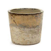 Conic Gold Glazed Pot - Medium