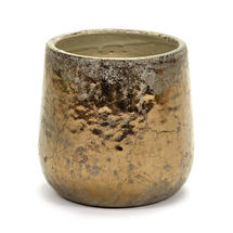 Divine Gold Glazed Pot - Medium