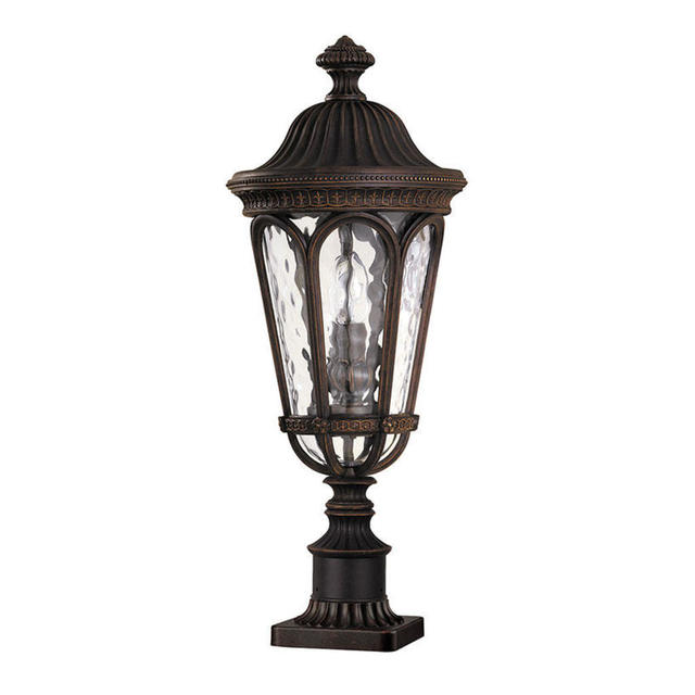 Baton Rouge Outdoor Pedestal Lantern By Feiss: Buy Regent Court Outdoor Pedestal Lantern By Feiss