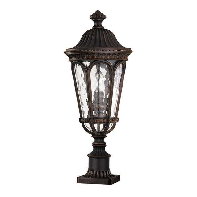 Buy Hornbaek Outdoor Pedestal Lantern By Elstead Lighting: Buy Regent Court Outdoor Pedestal Lantern By Feiss