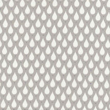 Oilcloth Fabric Teardrops - Toffee