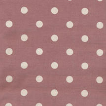 Oilcloth Fabric Big Dots - Rose