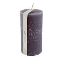 13.5 x 7cm Rustic Pillar Candle - Northern Dusk