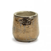 Divine Gold Glazed Pot - Small
