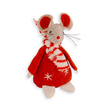 Christmas Mouse - Red Jumper