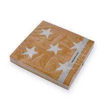 Tan Small Star Paper Napkin