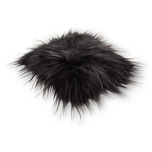 Longhair Sheepskin Seat Cover - Graphite