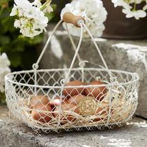 Small Harvesting Basket - Buttermilk