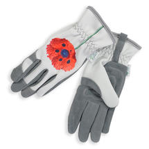 Chelsea - Red Poppy Flower Glove